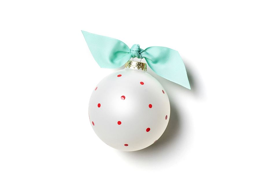 Merry Merry Baubles Glass Ornament by Coton Colors