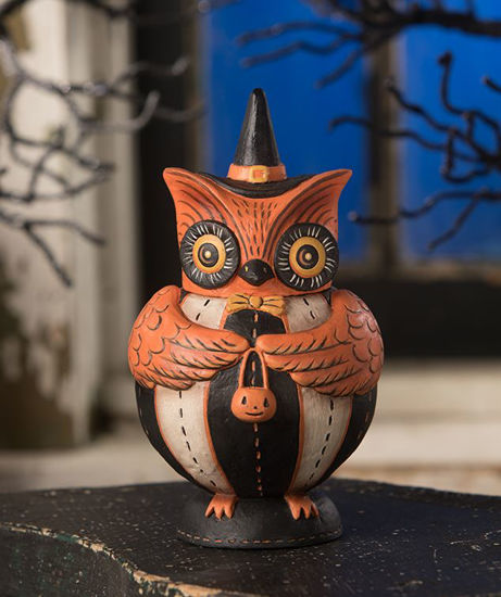 Owlster Hoots Spook Jar by Bethany Lowe Designs