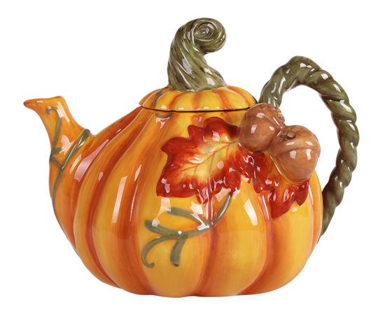 Pumpkin Teapot by Blue Sky Clayworks
