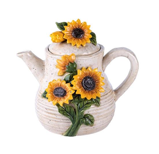 Sunflower Teapot by Blue Sky Clayworks