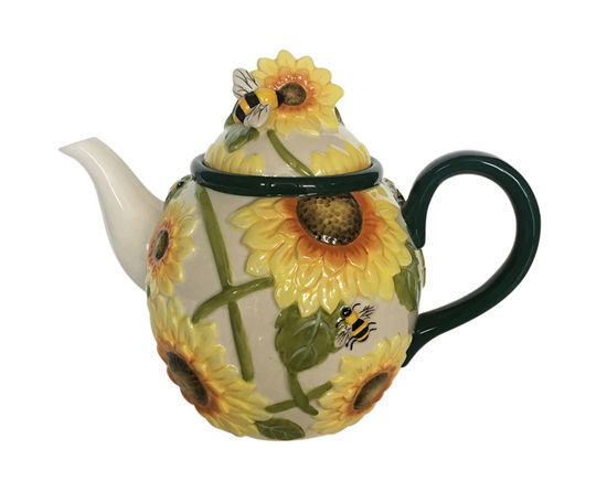 Hello Yellow Teapot by Blue Sky Clayworks