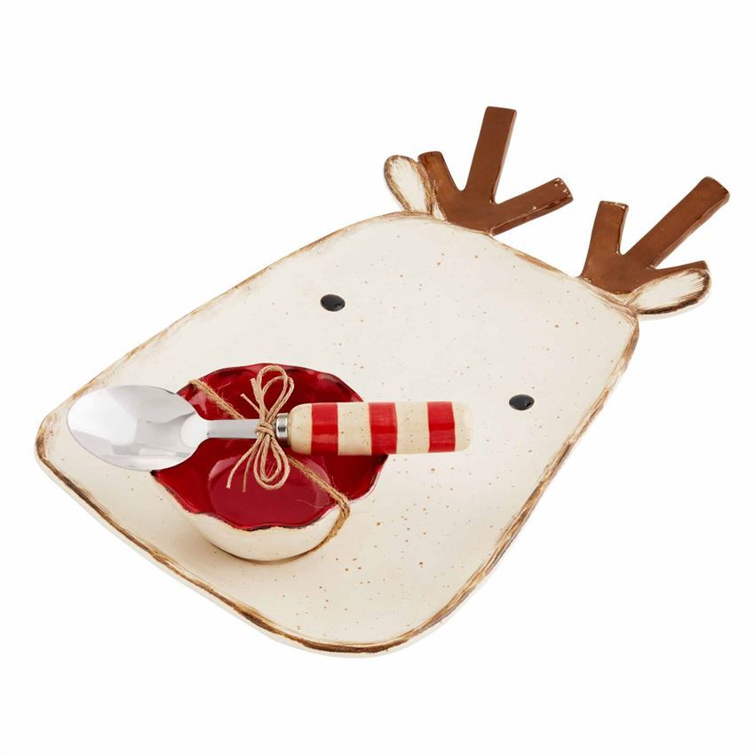 Reindeer Chip and Dip by Mudpie