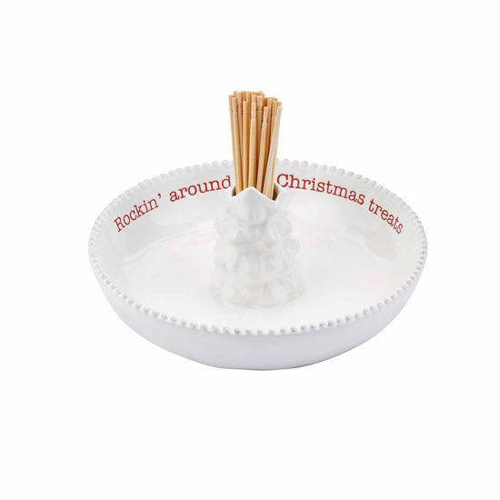 Rockin Treats Toothpick Dish by Mudpie