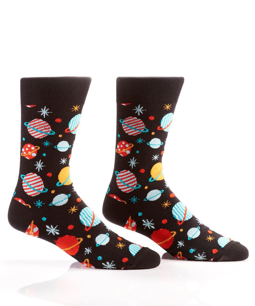 Galaxy Crew Socks by Yo Sox