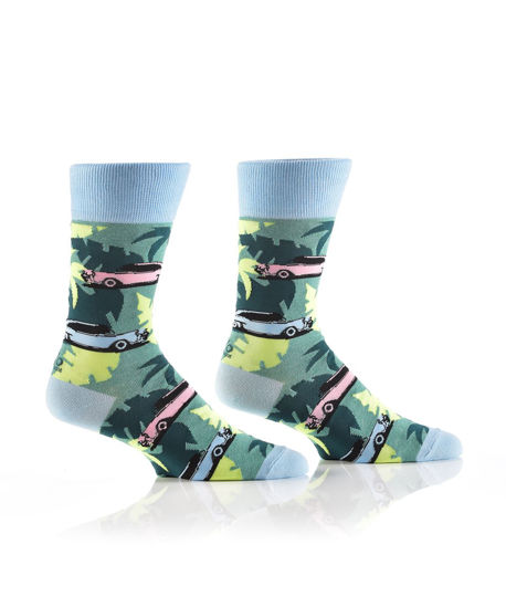 Summer Caddy Men's Crew Socks by Yo Sox