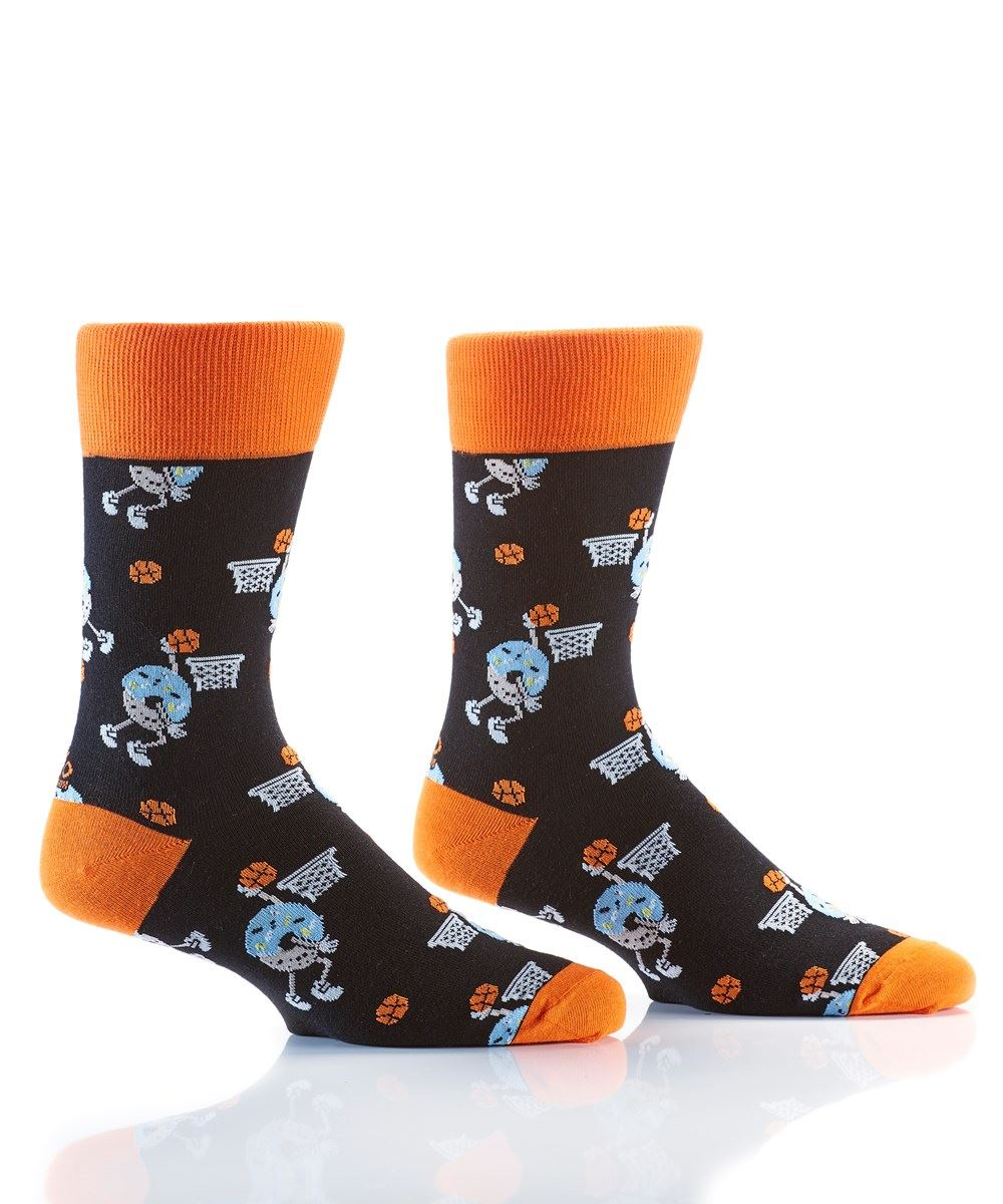 Slam Dunk Men's Crew Socks by Yo Sox