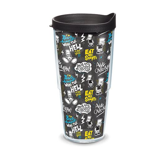 Simpsons - Bart Pattern 24oz Tumbler by Tervis