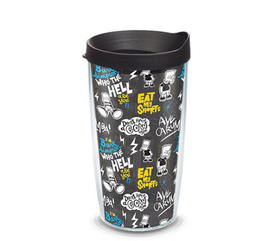 Simpsons - Bart Pattern 16oz. Tumbler by Tervis