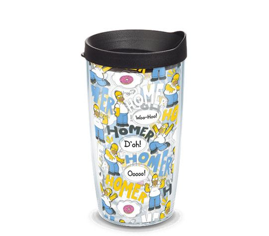 Simpsons - Homer Pattern 16oz. Tumbler by Tervis