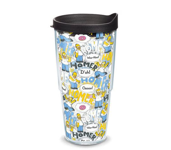 Simpsons - Homer Pattern 24oz Tumbler by Tervis