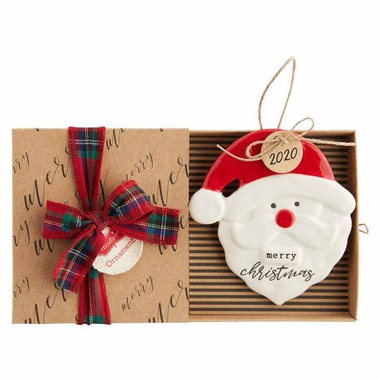 2020 Santa Ornament by Mudpie