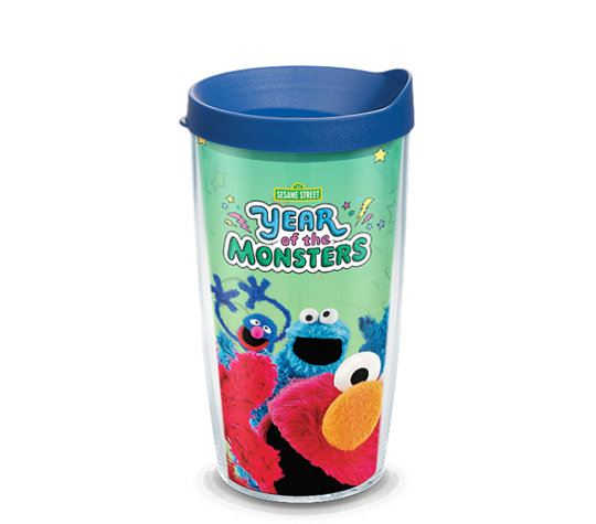 Sesame Street - Year of the Monsters 16oz. Tumbler by Tervis