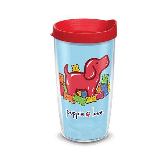 Puppie Love Gummie Pup 16oz. Tumbler by Tervis
