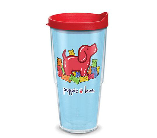 Puppie Love Gummie Pup 24oz Tumbler by Tervis