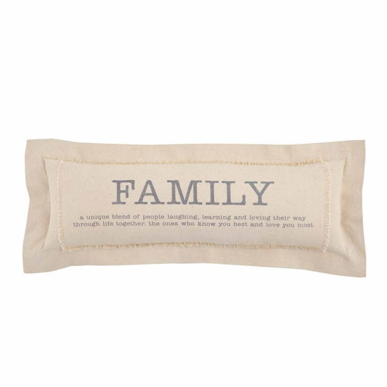 Family Definition Pillow by Mudpie