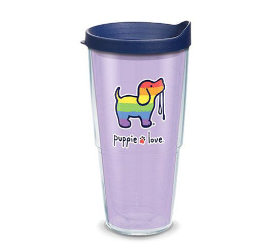 Puppie Love Pride Pup 24oz Tumbler by Tervis