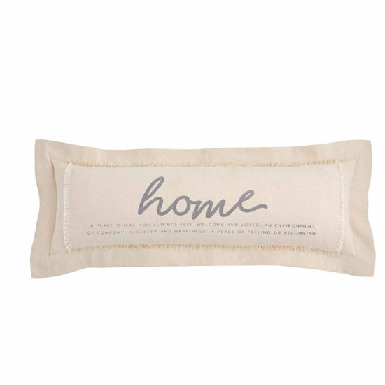 Home Definition Pillow by Mudpie