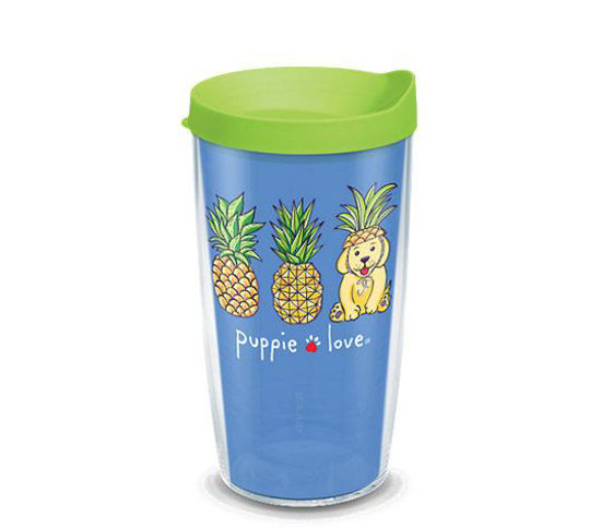 Puppie Love Pineapple Disguise 16oz. Tumbler by Tervis