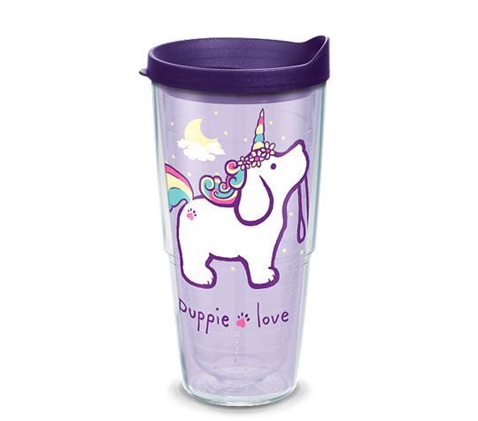Puppie Love Unicorn Puppy 24oz Tumbler by Tervis