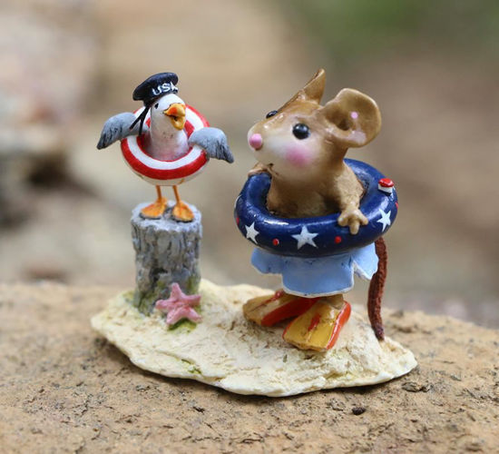 Patriotic Pals M-691b By Wee Forest Folk®
