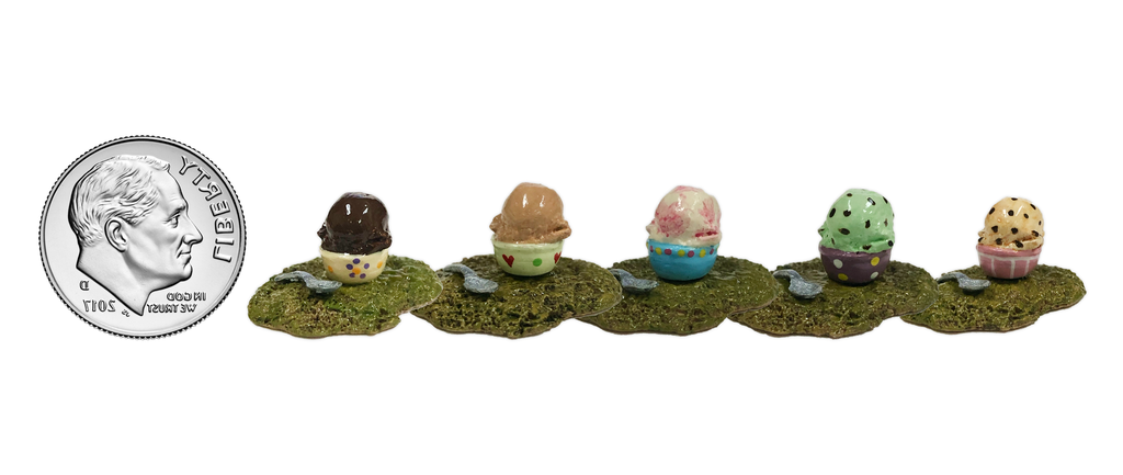 Tiny Ice Cream Accessory (Assorted) 011 by Wee Forest Folk®