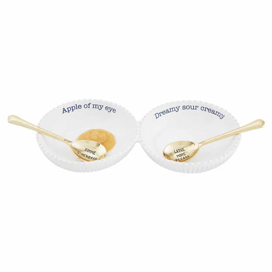 Hanukkah Double Dip Set by Mudpie