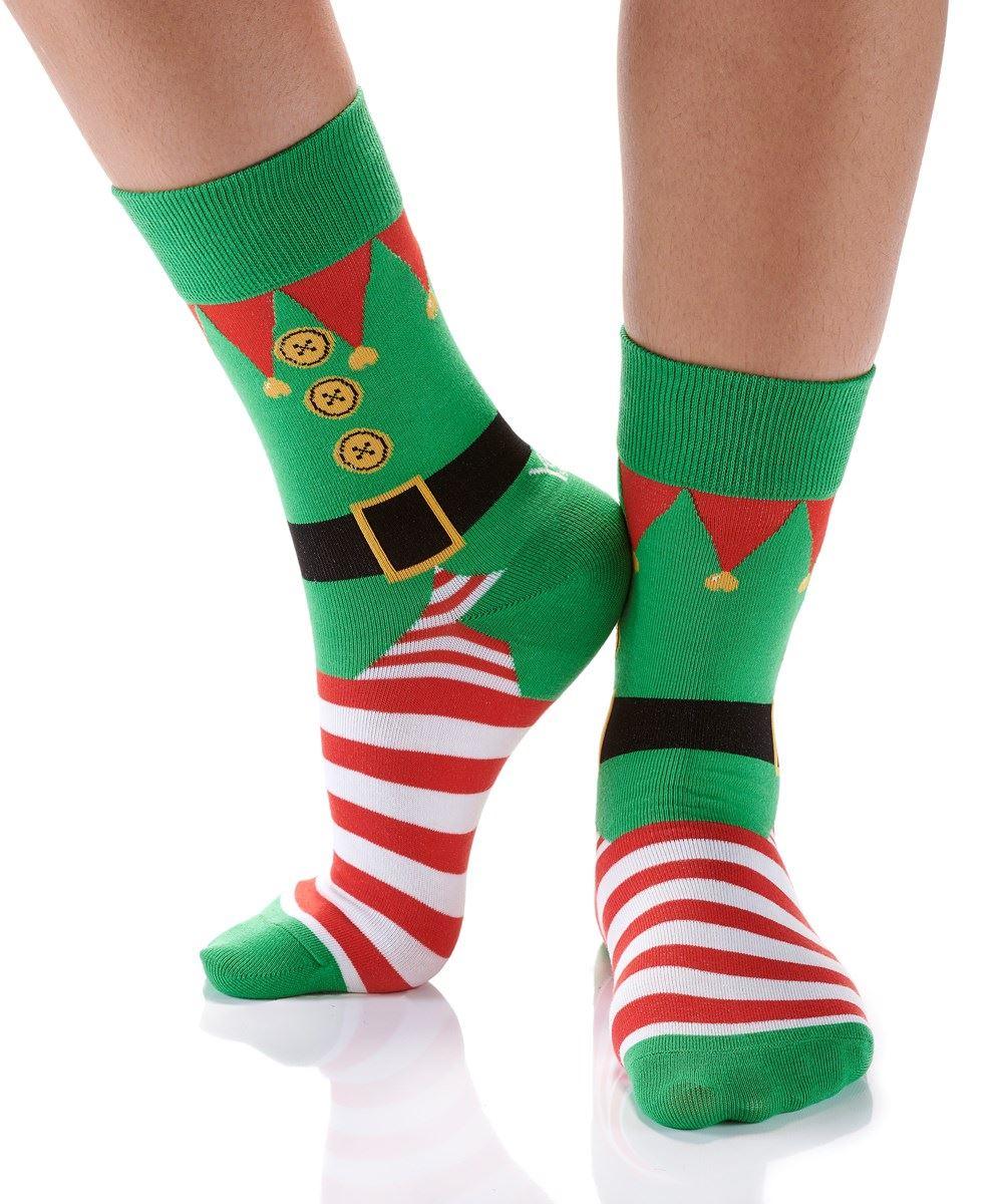 Santa's Helper Women's Crew Socks by Yo Sox