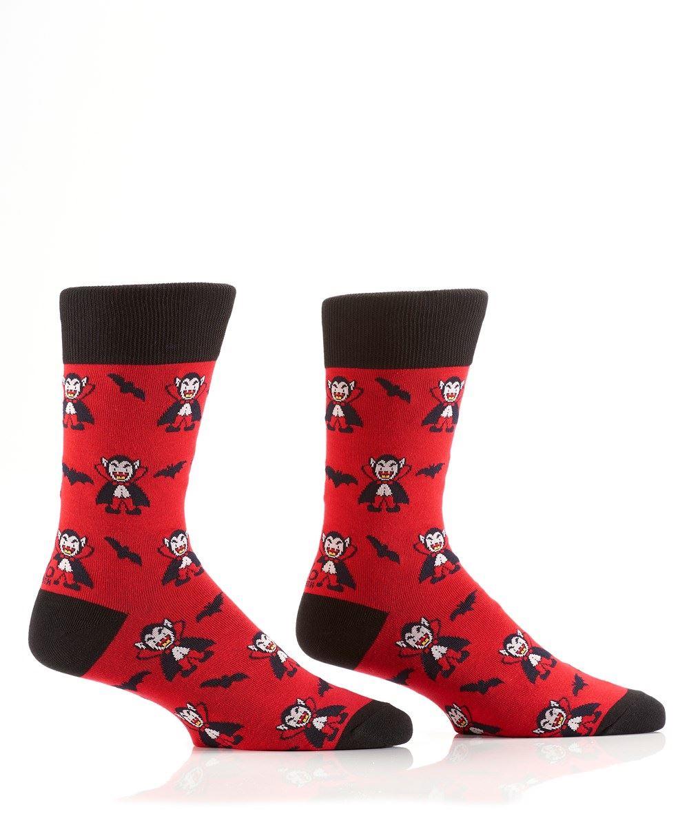 Vampire Men's Crew Socks by Yo Sox