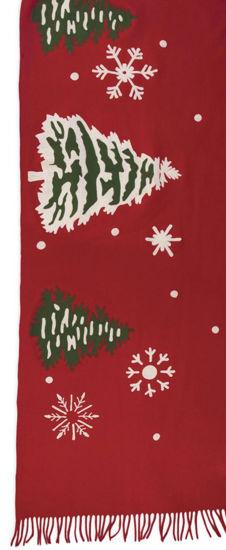 Snowflakes Wool Blanket by Chandler 4 Corners