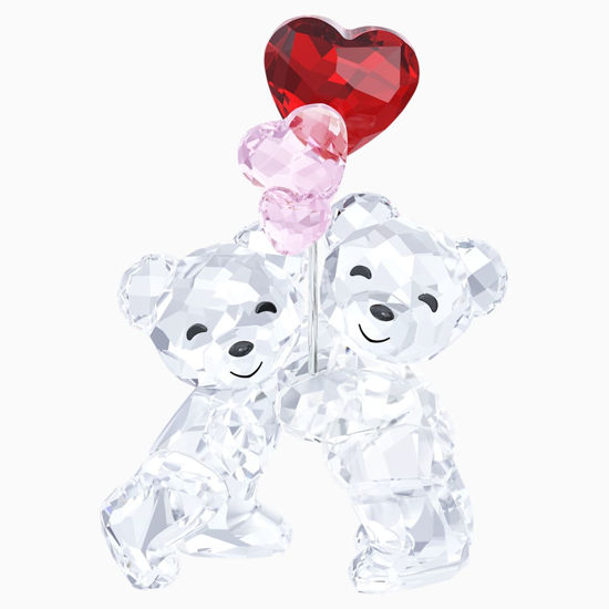 Kris Bear - Heart Balloons by Swarovski