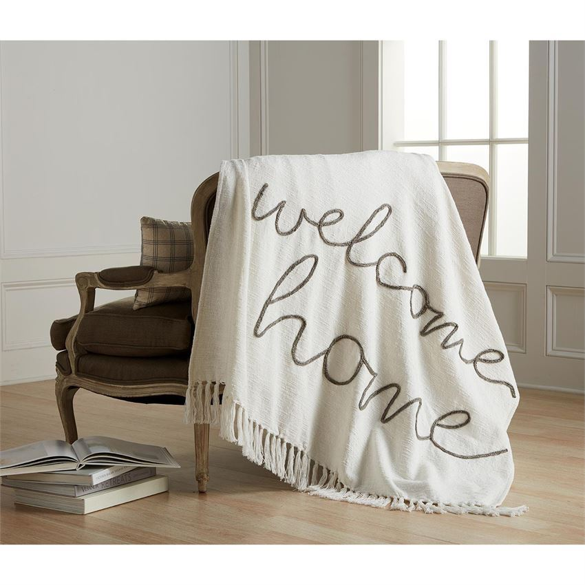 Home Sentiment Blankets by Mudpie