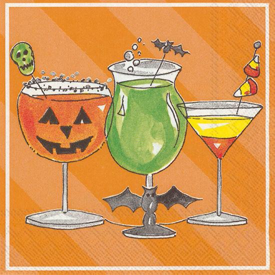 Spooky Cocktail Cocktail Napkin by Boston International
