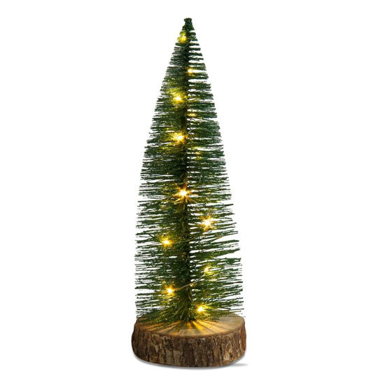 Bottle Brush Tree LED Lit by TAG