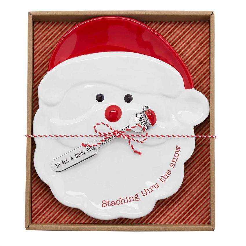 Christmas Cheese Plate Sets (Assorted) by Mudpie