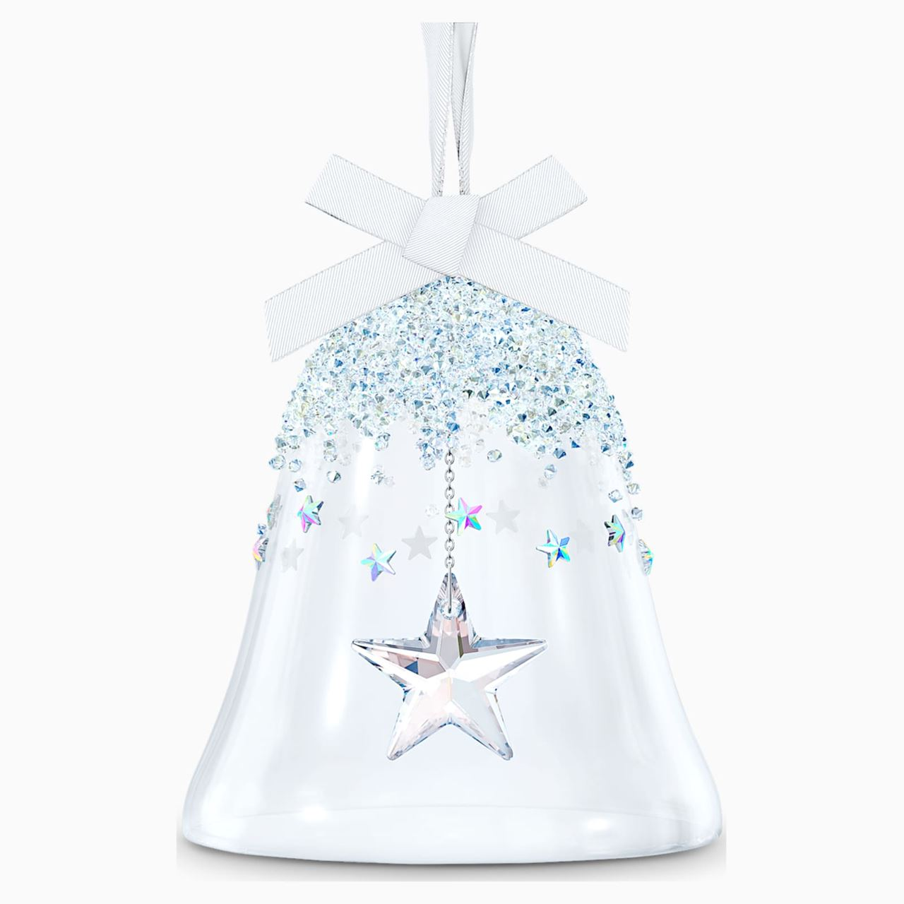 Classic Bell Ornament Star, Large by Swarovski