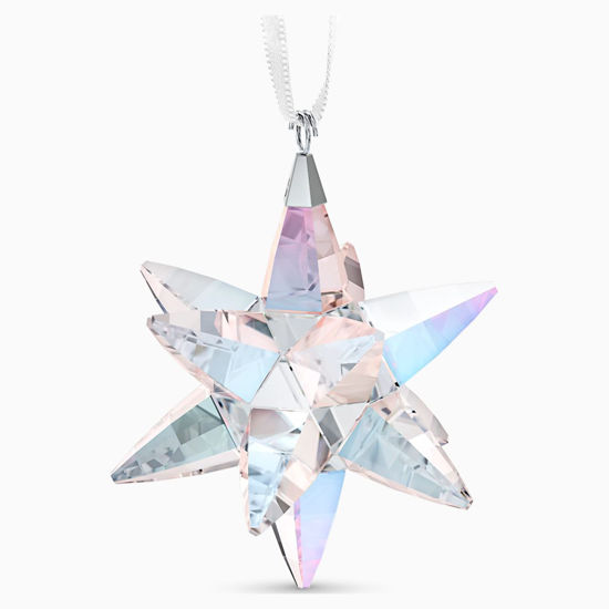 Classic Star Shimmer, Medium Ornament by Swarovski