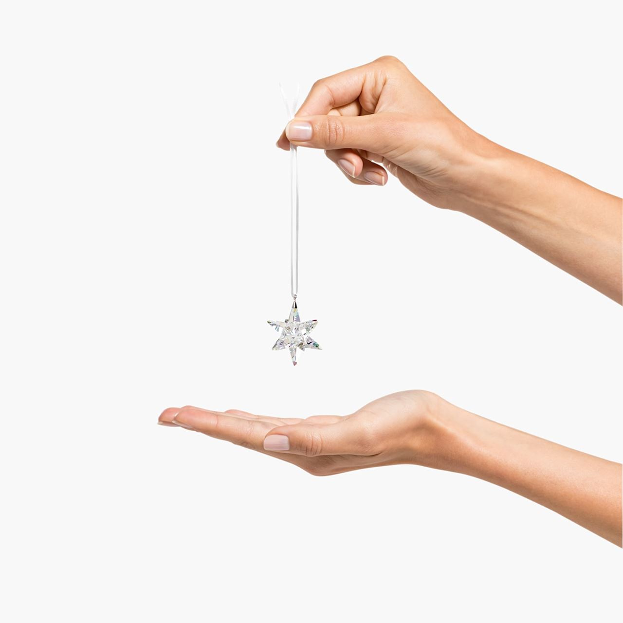 Classic Star Shimmer, Small Ornament by Swarovski