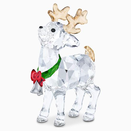 Santa's Reindeer by Swarovski