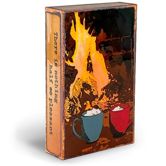 Fireside Spiritile by Houston Llew
