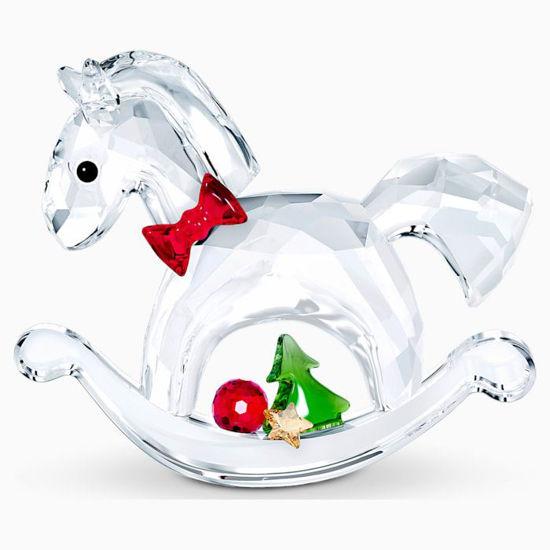 Rocking Horse - Happy Holidays by Swarovski