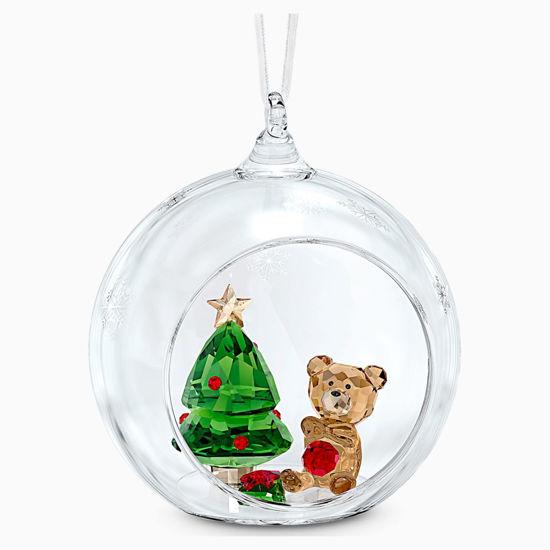 Ball Ornament, Christmas Scene by Swarovski