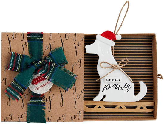 Sled Dog Ornament by Mudpie