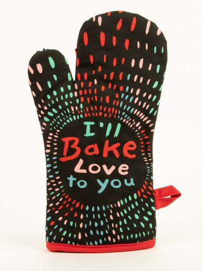 Bake Love To You Oven Mitt by Blue Q