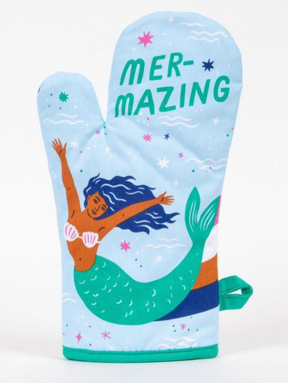 Mer-Mazing Oven Mitt by Blue Q