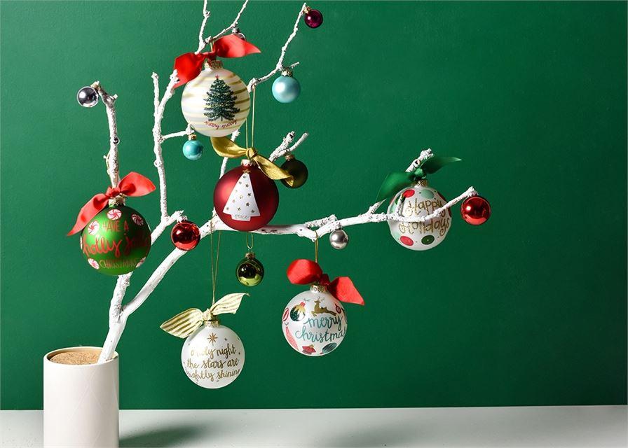 Vintage Ornaments Glass Ornament by Coton Colors