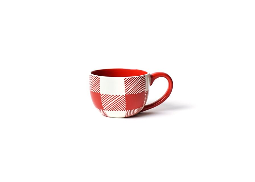 Buffalo Mug Red by Coton Colors