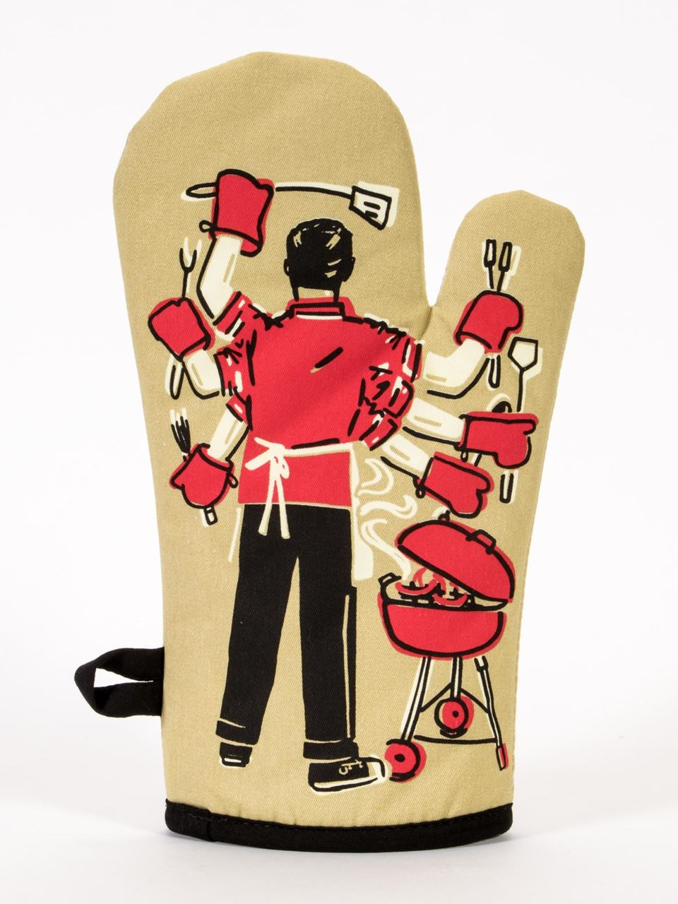 Feed You Fuckers Oven Mitt by Blue Q