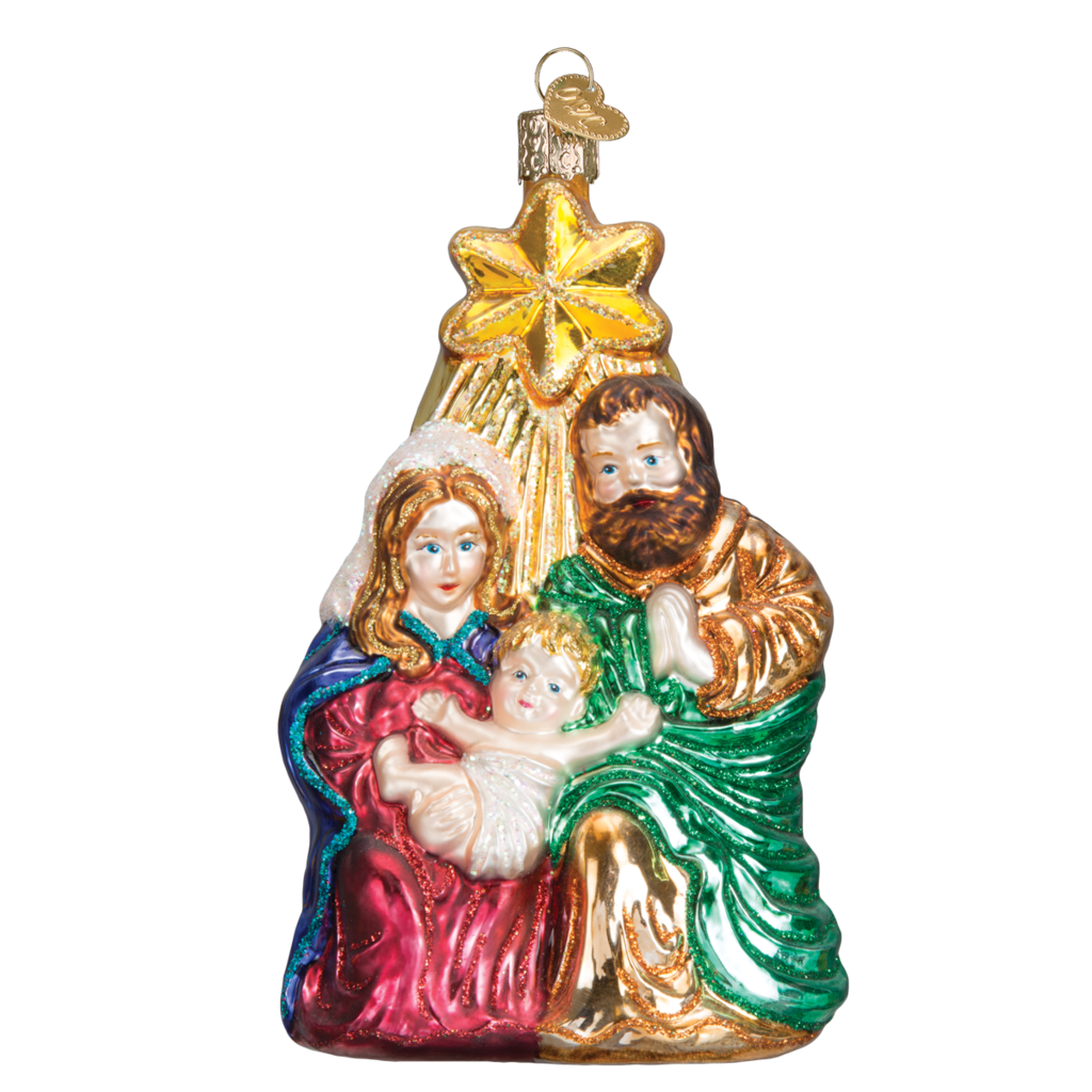 Holy Family with Star Ornament by Old World Christmas