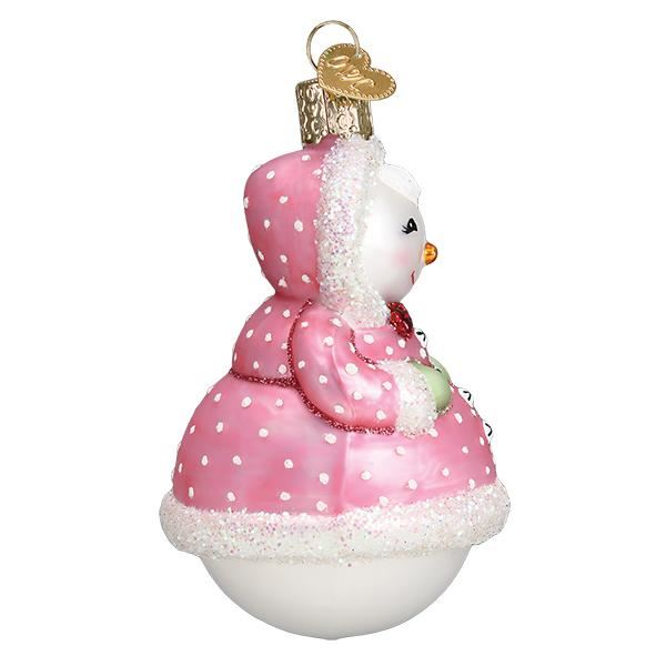Jolly Snowlady Ornament by Old World Christmas