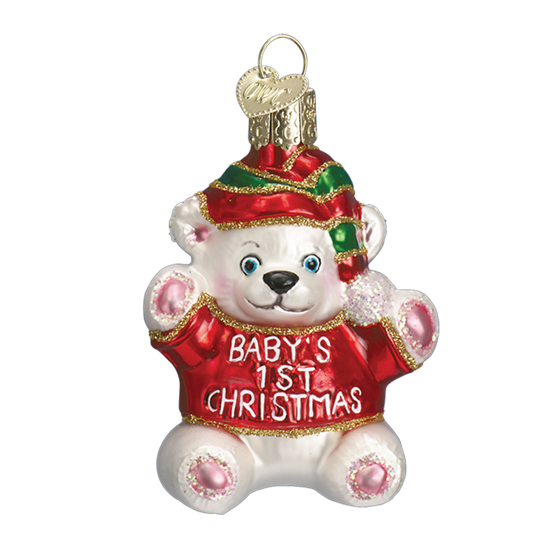 Baby's First Christmas by Old World Christmas